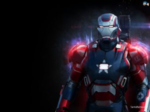 The Iron Patriot... Because fuck subtlety.