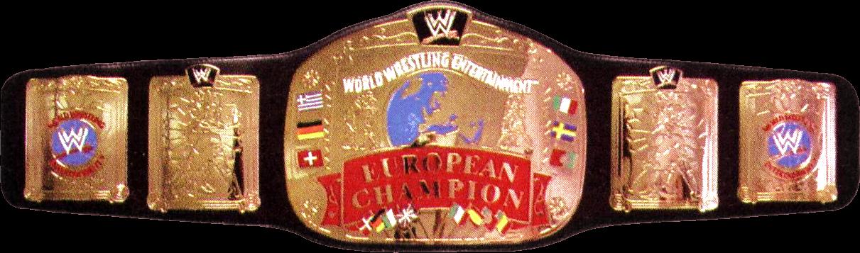 European Championship Top 4 WWE Licensed Bel...